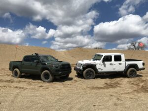 Tacoma and Jeep