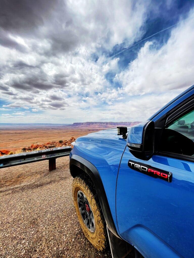 Utah Arizona Border