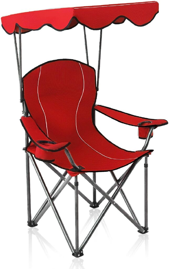 ALPHA CAMP Chairs with Shade Canopy