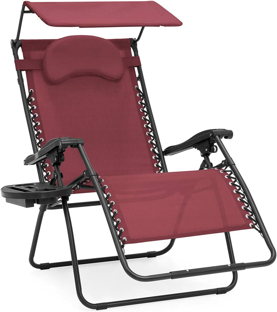 Best Choice Products Oversized Zero Gravity Chair