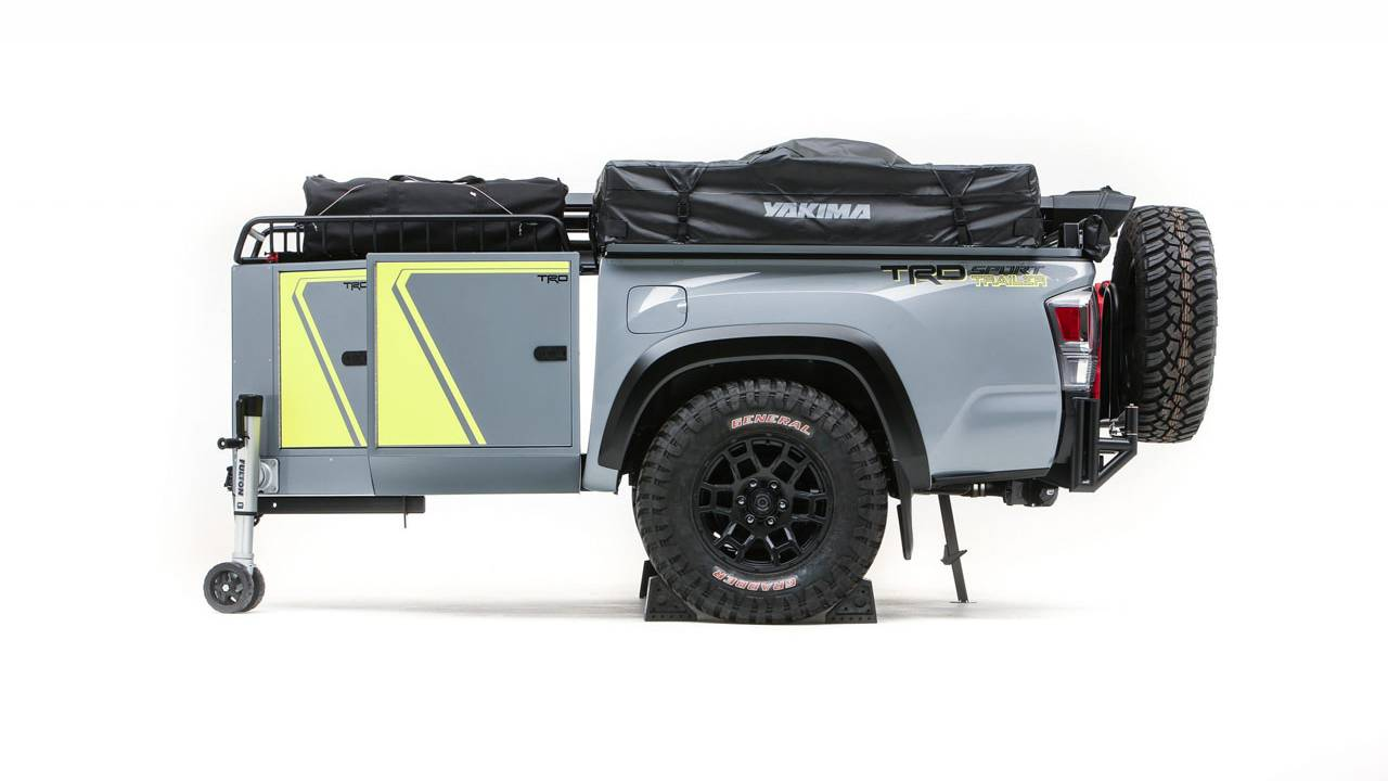 Truck Bed Trailer Tacoma