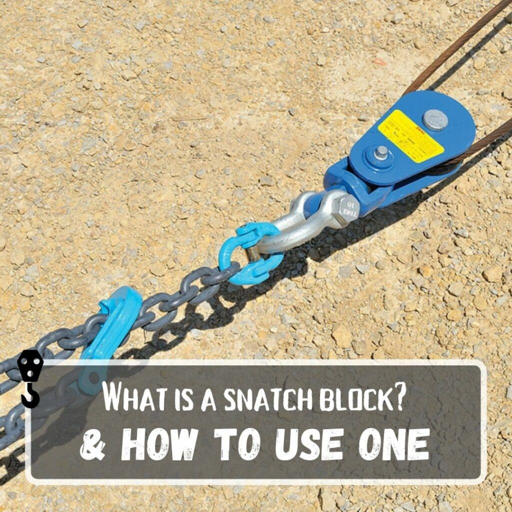 What Is a Snatch Block + How to Use One