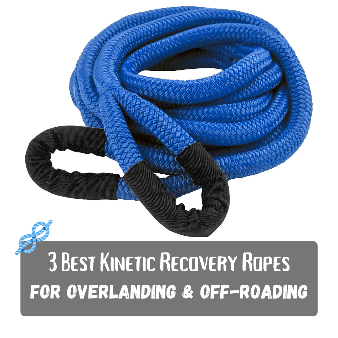 3 Best Kinetic Recovery Ropes for Off-Roading & Overlanding